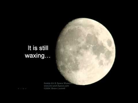 Introduction to the Moon for kids.  The Moon orbits the Earth; lunar phases; and lunar and solar eclipses.  First in a series of three videos.
