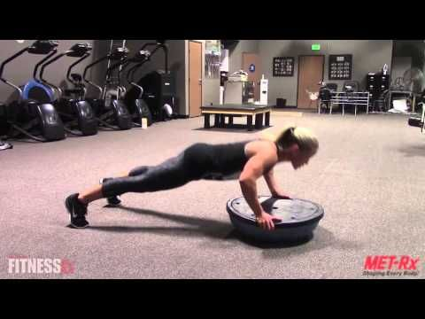 Bosu Ball Burn | FitnessRX for Women