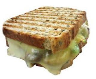 #sandwich #queso #derretido