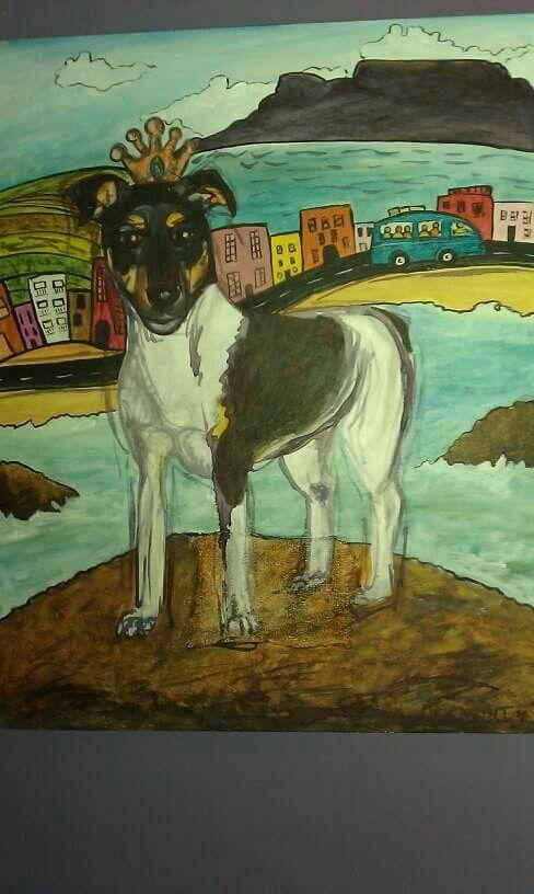 'Wendy' Acrylic on canvas  2010