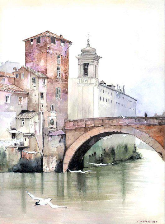 Cinzia Russo - watercolor