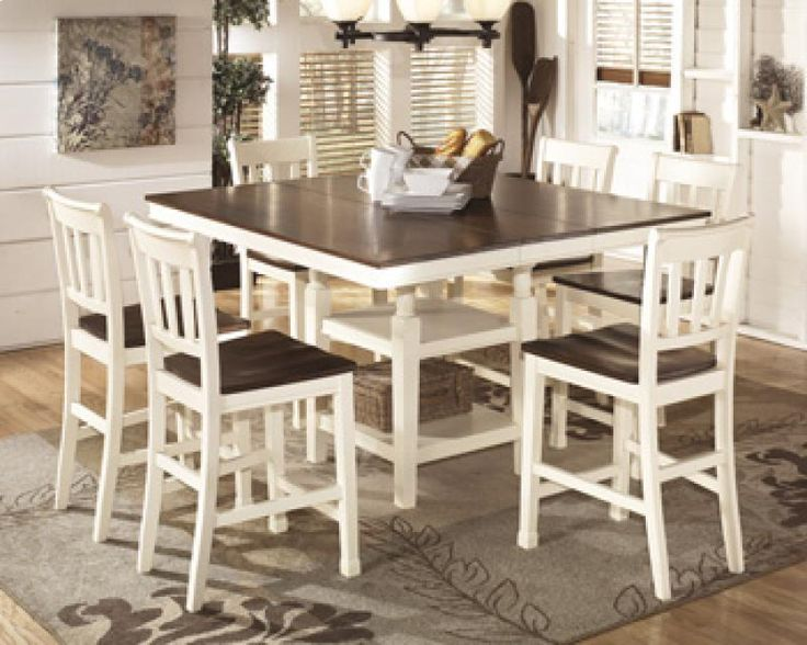 extendable dining room table by signature design by ashley. whitesburg - square drm counter ext table by signature design ashley. get your at st. extendable dining room ashley