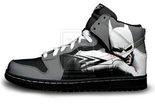 Nike Dunks Custom Design Sneakers : Unique Nike Dunk High SB Premium Batman Shoes For ...