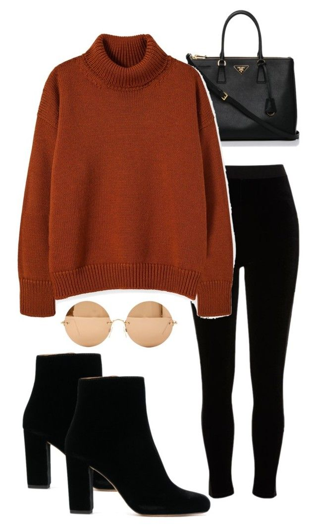 Outfit by vicky-skoufh on Polyvore featuring River Island, Prada and Victoria Beckham