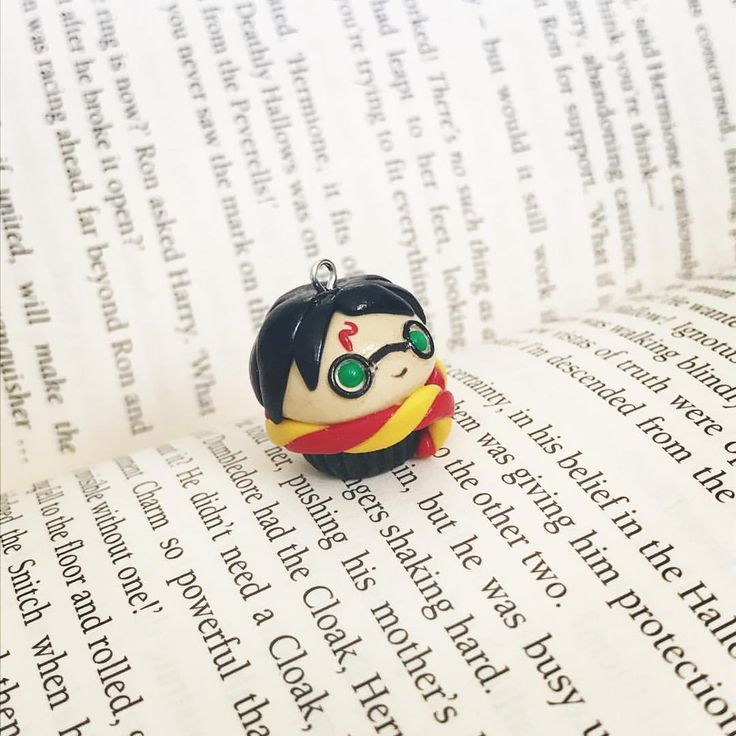 Harry Potter cupcake charm @thislilcharmer