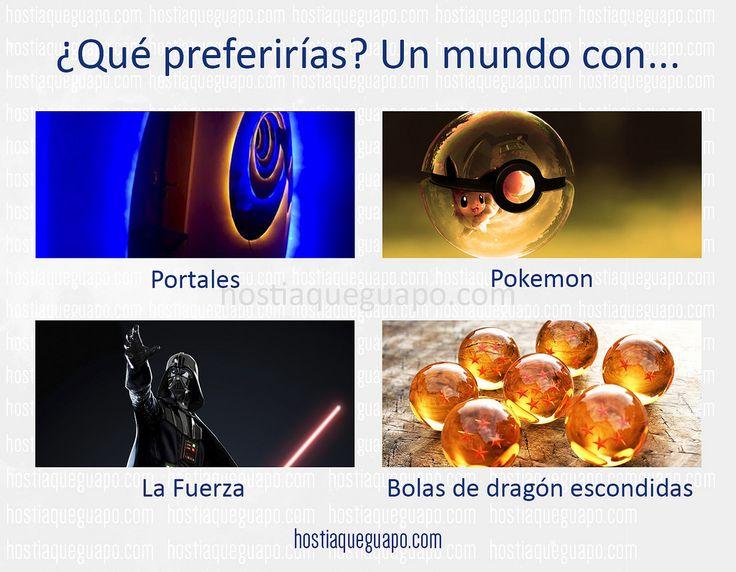 https://flic.kr/p/G3tiHf | ¿Preferirías un mundo con...? | Juegos para compartir en las redes. Hostiaqueguapo.com