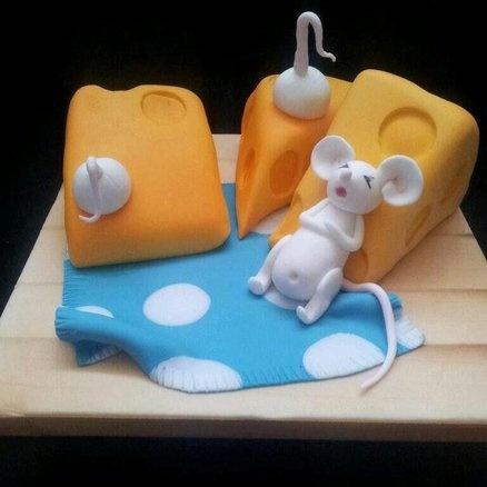 Cheesecake? :)  Cake by Lisa Wheatcroft