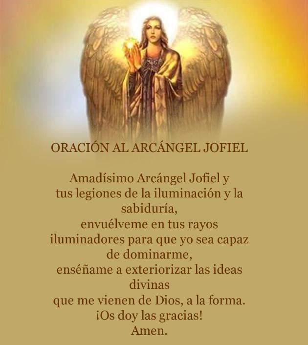 Oracion al Arcangel Yofiel