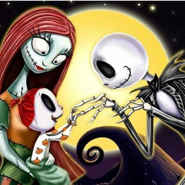 Jack Sally And Baby Makes 3 Nightmare Before