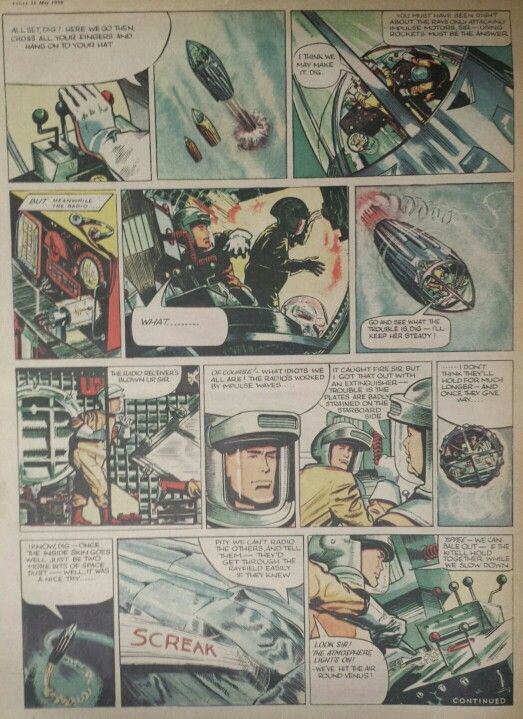 Dan Dare from Eagle Comic #7