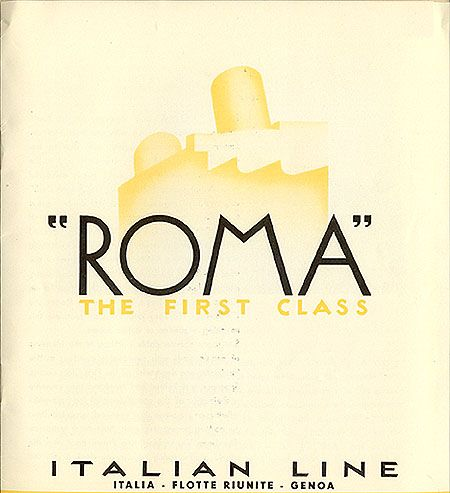 "The Italian font scene! ""Roma"" The First Class Italian Line, Luc Devroye"