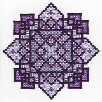 Marguerite (Hardanger and specialty) - I found this while browsing JuliesXstitch.com