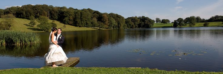 Yorkshire Wedding at Coniston Hotel - ideal wedding venue in Skipton - Yorkshire Dales, beautiful lake, scenic landscape.