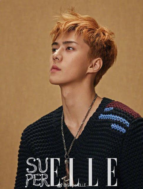 Devilspacezhip: [PICS] EXO SeHun for Super ELLE Magazine of August...