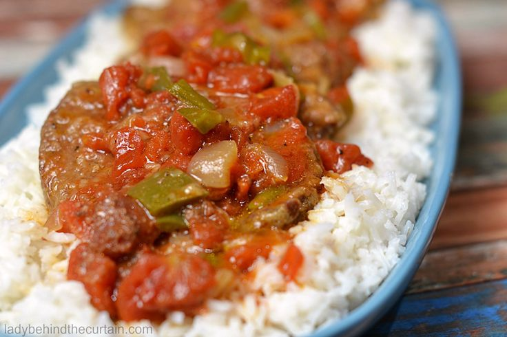 Instant Pot Swiss Steak | This one pot wonder is not only my families number one favorite dish but it's easy and perfect for a hearty meal.  Serve it along