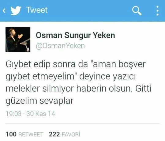 Giybet !! Osman Sungur Yeken - Cinaralti