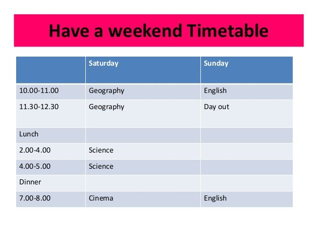 Project Timetable Template oakandale - project timetable