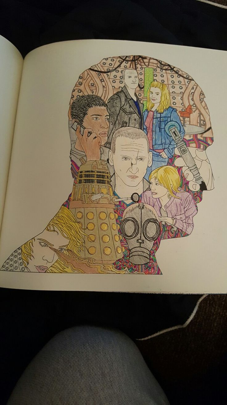 17 best doctor who coloring book images on pinterest coloring