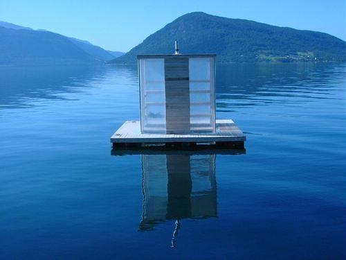 Floating SaunaCasagrande & Rintala