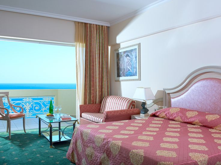 Superior Double / Twin Room - Boost your holiday experience even further with the superior rooms located exclusively in the main building offering a supreme view of the fabulous sea