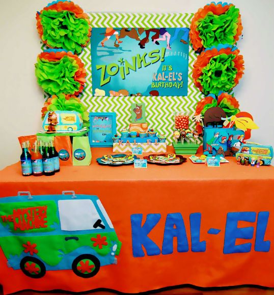 Scooby Doo Party  The Party Wagon - Blog