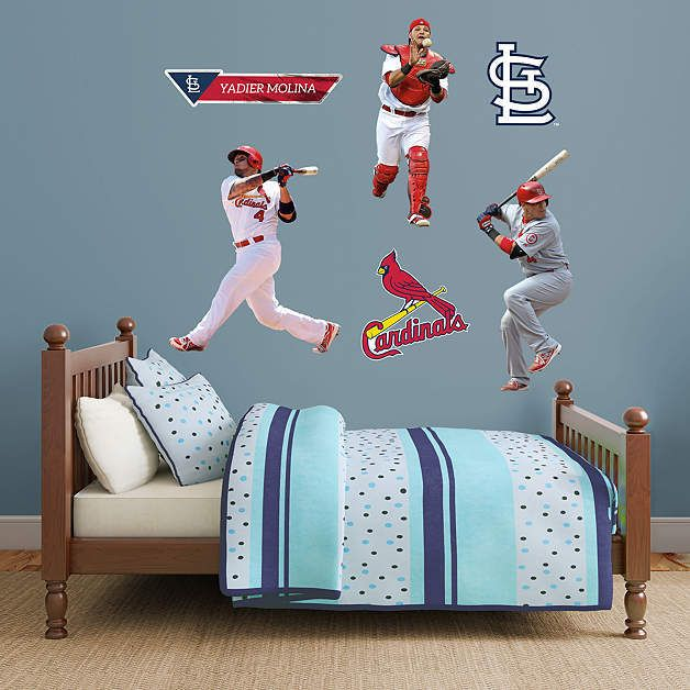Best Fathead Images On Pinterest Wall Decals Murals And - Yadier molina wall decals