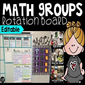 Frustrated with trying to meet the needs of all your math learners? Are you still teaching whole group, knowing you have low kiddos and advanced kiddos? You should try Math Rotations!! What's Included? Included in this product you will find a math rotations bulletin board as well as information about how to implement math stations in your
