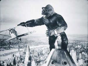 King Kong - the good version, not the Jack Black version.  Don't get me wrong, I like Jack Black.  His version was just terrible.
