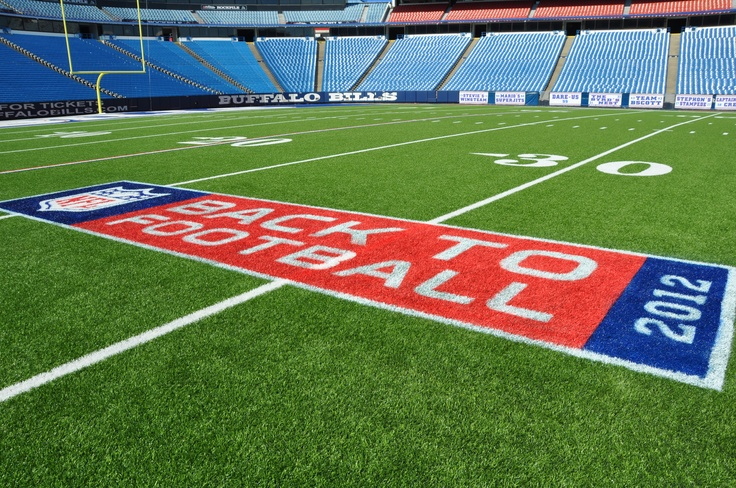 Ralph Wilson Stadium is ready to get back to football...are you?
