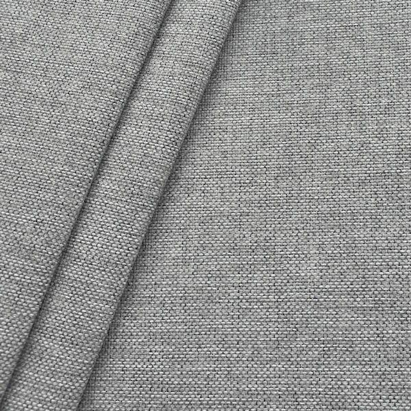 Polster- Möbelstoff Artikel Muna Farbe Hell-Grau meliert