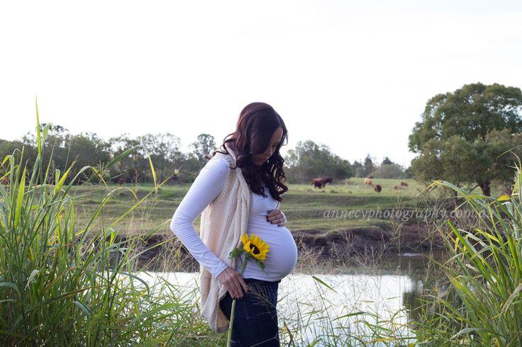Woodland maternity shoot