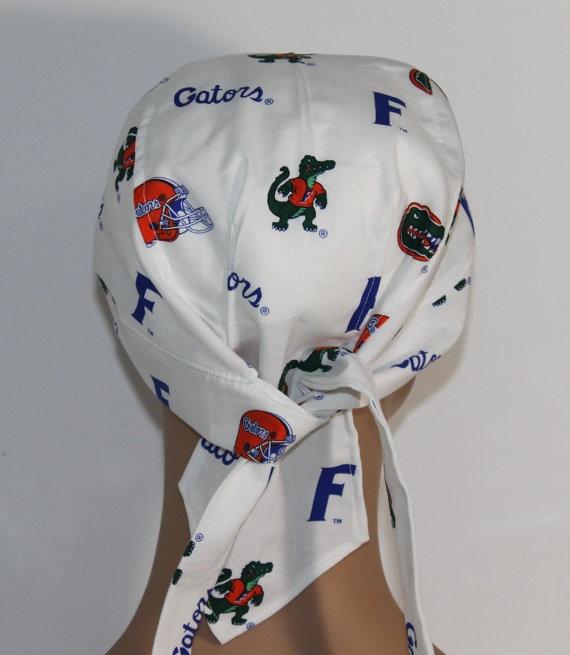 NCAA Doo Rag University of Florida Biker Hat by UniScrubCaps, $9.99