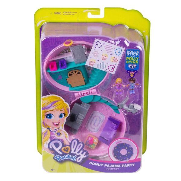Polly Pocket Secret Slumber Party Compact Set