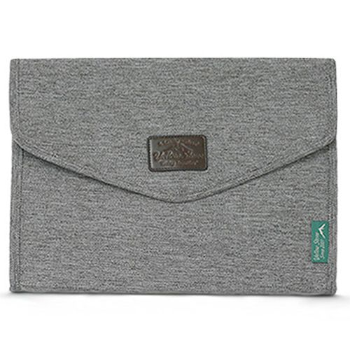 Grey Clutch Bag for Men Canvas Pouch Brown Clutch Bag Yellowstone 4003