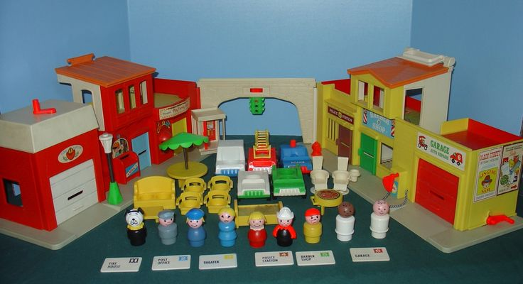 Fisher Price Little People Village  Toy I used to play with at my grandparents' house