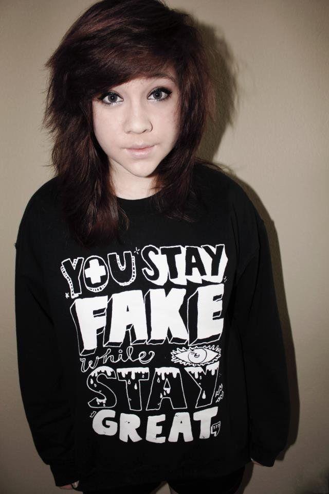 Stay Fake (Crewneck Sweatshirt)   STAY GREAT APPAREL