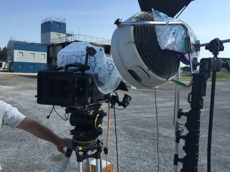 Not impressive, BUT inventive! How else do you keep a high-speed 2000fps Weisscam camera from overheating on a hot summer day?