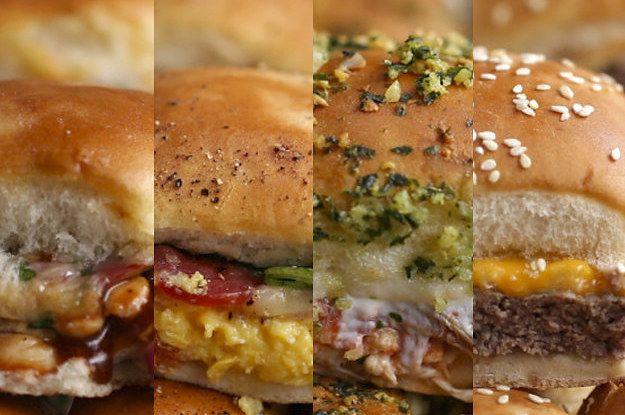 Minissanduíches de 4 jeitos: | Seus sanduíches nunca mais serão os mesmos depois de ver este vídeo
