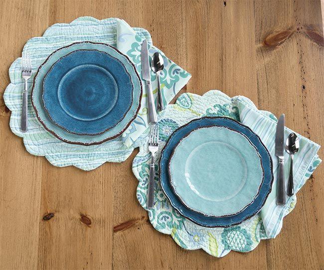 Just found this Unbreakable Melamine Plates - Mediterranean Blue Melamine Plates -- Orvis on Orvis.com!