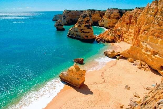 "Beach ""Praia da Marinha"" #Algarve #Portugal"