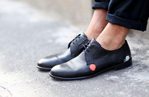 4 этапа чистки обуви