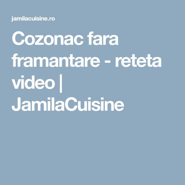 Cozonac fara framantare - reteta video   JamilaCuisine