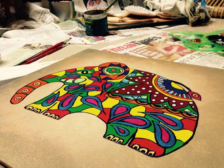 #paintingelephants