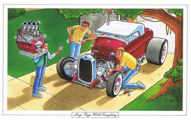 The art of George Trosley | The Jalopy Journal The Jalopy Journal