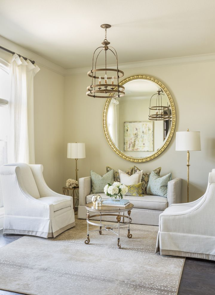 Beautiful Living Room By Harper Howey Interiors