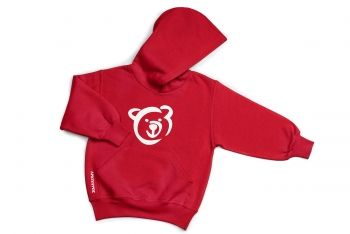 Hoodie for children available in various colors.