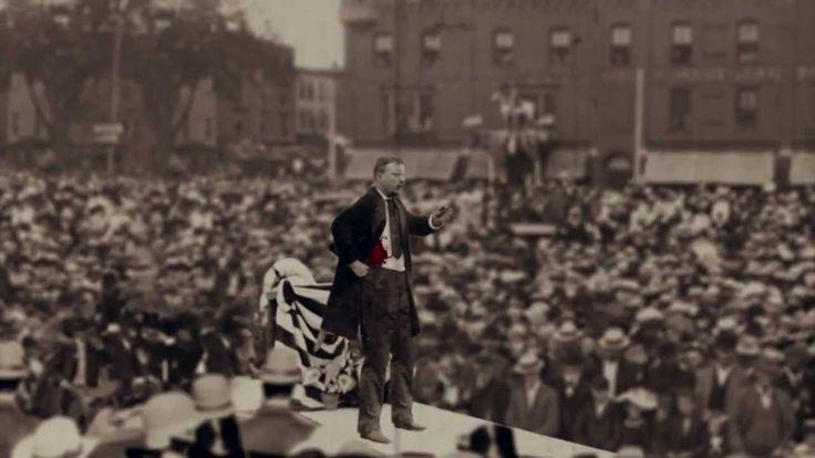 That Time Teddy Roosevelt Got Shot and Still Gave a 90 Minute Speech