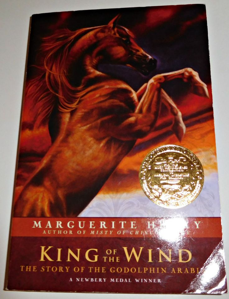 King of the Wind by Marguerite Henry A Newbery Medal Winner Paperback HOD