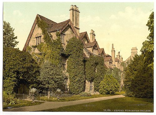 [Worcester College, Oxford, England]  (LOC)
