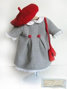 Gorgeous doll outfit